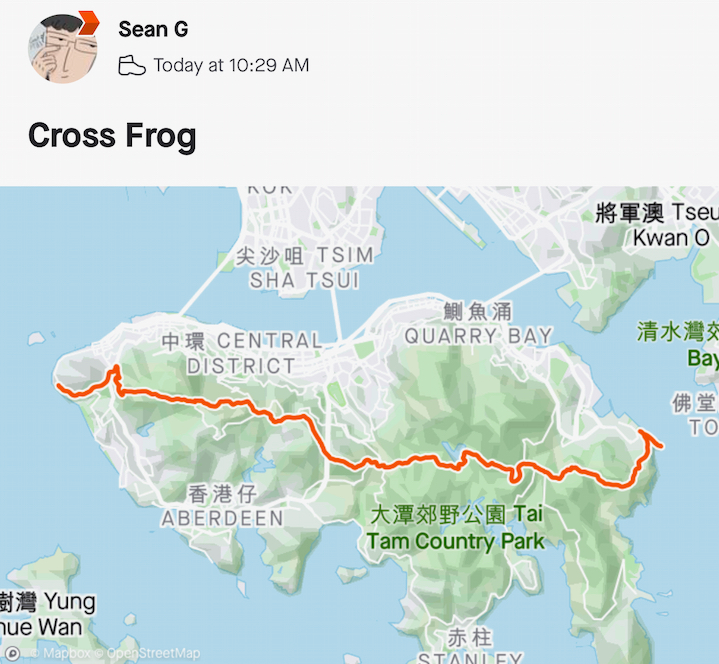 cross frog